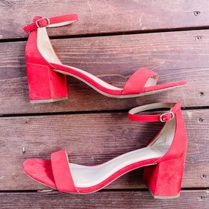 Red A New Day Heels
